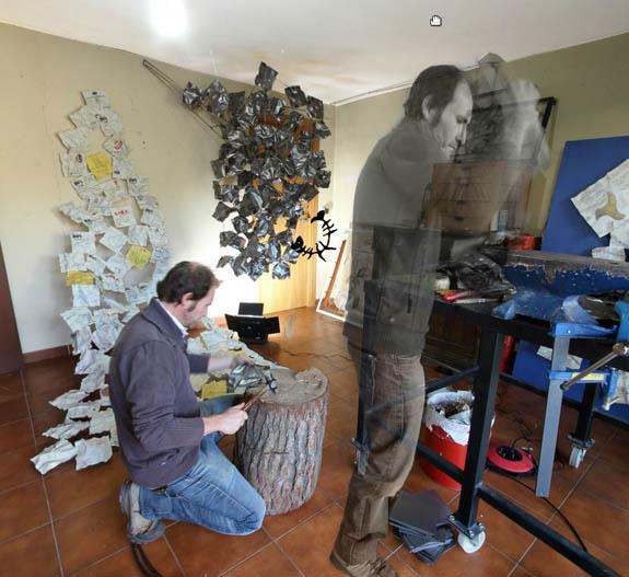 "Visita 360º del Taller de Escultura Contemporánea ""Augusto Moreno"""