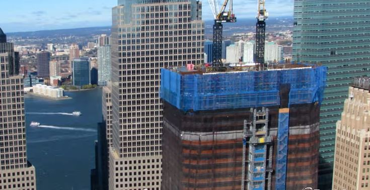 11 años de Construcción del New World Trade Center N.Y.